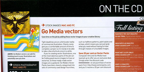 Go Media in Computer Arts #134