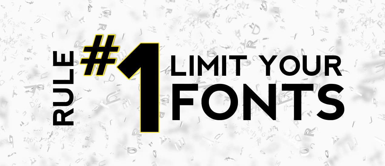 Rules about Using Font
