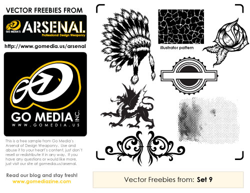 Free Vector Pack 9 Sampler