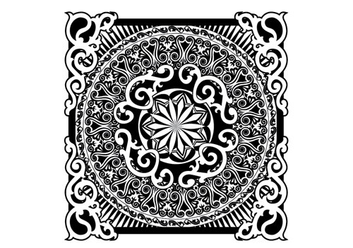 coloring pages intricate patterns illustrator - photo#10