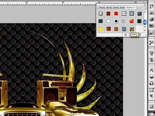 Badass Bling Effect in Photoshop - Go Media™ · Creativity at