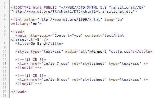 Head HTML
