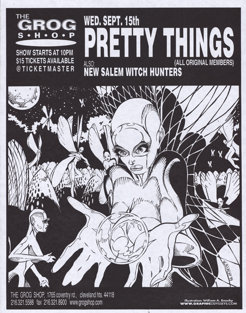 pretty things beachy flier