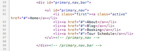 Primary Nav