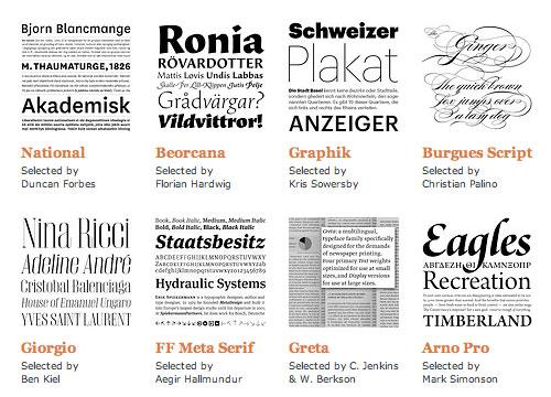 2007 Fonts
