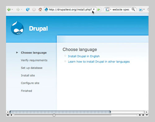 Drupal 6 Install Video