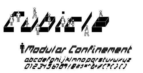 cubicle font