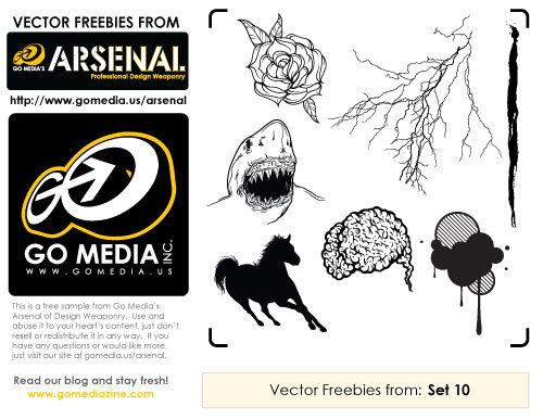 Free Vector Pack 10 Sampler