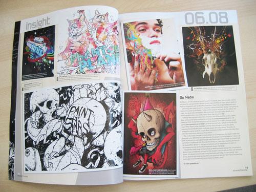 Go Media feature in Advanced Photoshop Magazine