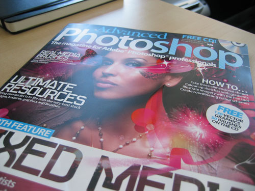 Go Media featured in Advanced Photoshop Magazine