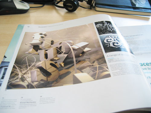 Jeff Finley Typography featured in Computer Arts Projects