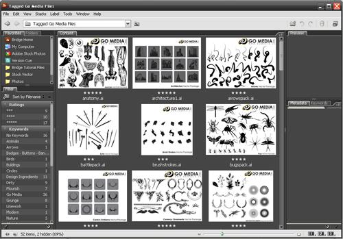 Adobe Bridge is iTunes for Designers - Go Media™ · Creativity at work!