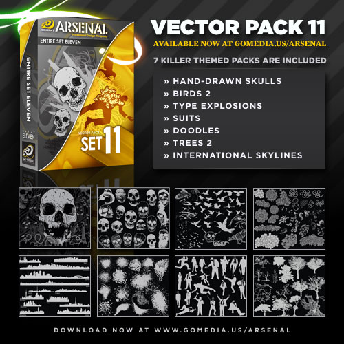 Vector Pack 11 Out Now!