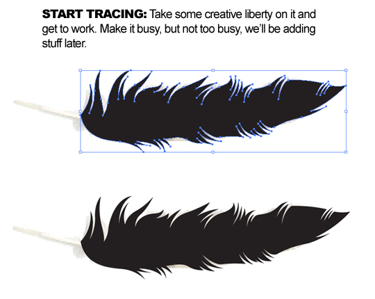 How to Draw Your Own Vector Wings - Go Media™ · Creativity
