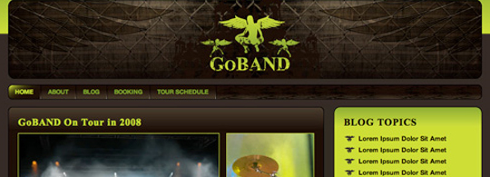 Create a Killer Band Site in Drupal – Part 4 – Theming Drupal