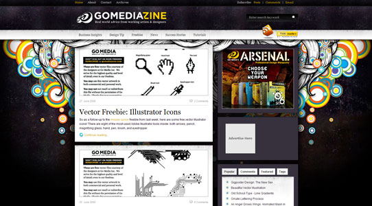 New Go Mediazine Theme!