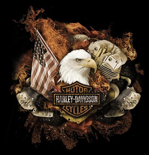 Harley Davidson design by Jeff Finley