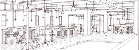 Go Media HQ – Initial Floorplans