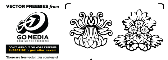 Vector Freebie: Floral Wallpaper