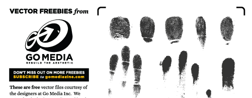 Vector Freebie: Fingerprints