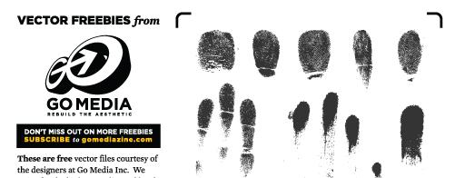 Vector Freebie: Fingerprints