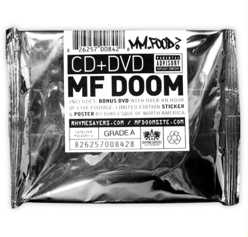 Mf Doom Packaging