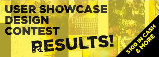 User Showcase Contest: Results!