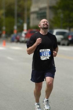 Bill's Cleveland Marathon experience