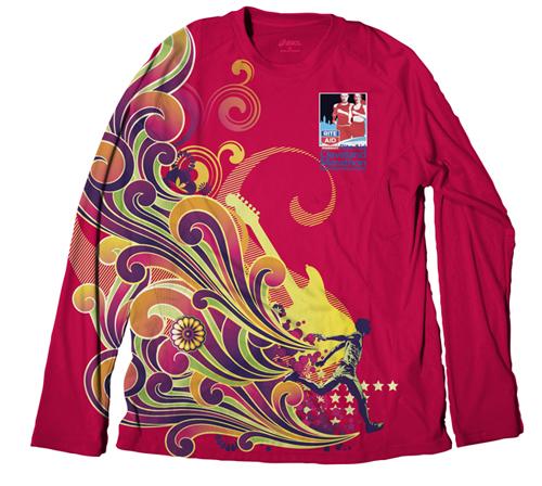 Cleveland Marathon T-shirt design