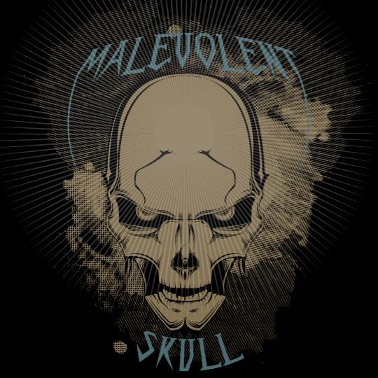 malevolent skull
