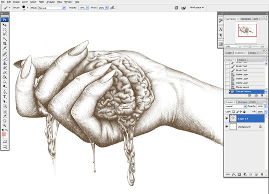 how to draw a hand 12