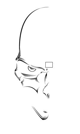 Illustrate A Malevolent Skull In 8 Steps Go Media Creativity At