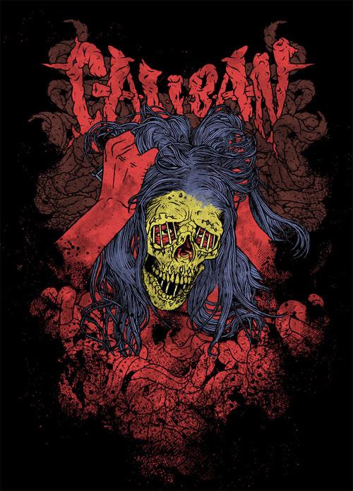 Caliban Shirt and Hoodie
