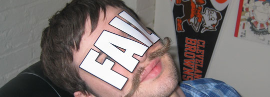 FAIL Sticker on your FACE!
