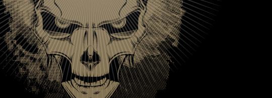 Illustrate a Malevolent Skull in 8 Steps