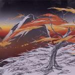 Draw a Windy Sunset Illustration