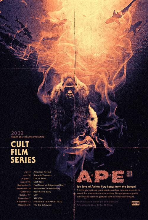 Cedar Lee Cult Film Series Poster
