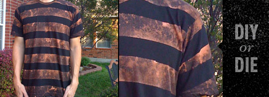 DIY Striped T-Shirt in 3 Easy Steps