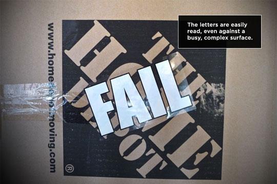 FAIL Corporate Logos