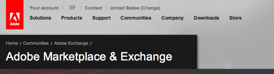 adobe exchange