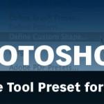 Create A Photoshop Tool Preset for Custom Text