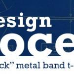 """Design Process: """"Sick"""" Metal Band T-Shirt"""