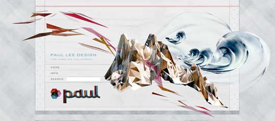 paul lee design page header