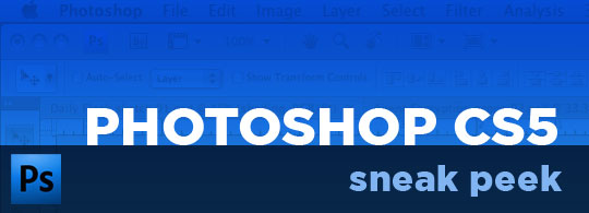 Adobe Photoshop CS5: Sneak Peek [video]