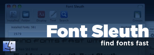Font Sleuth: Find Fonts Fast