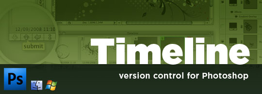 Timeline: Version Control Plugin for Photoshop