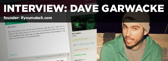 Dave Garwacke interview