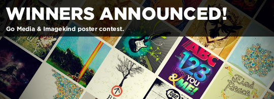 Go Media Announces Imagekind Poster Winners!