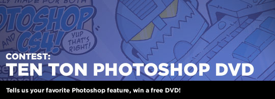 Giveaway: Ten Ton Photoshop DVD