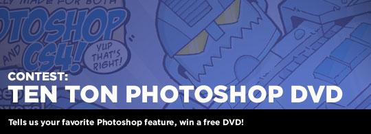 Giveaway: Ten Ton Photoshop DVD